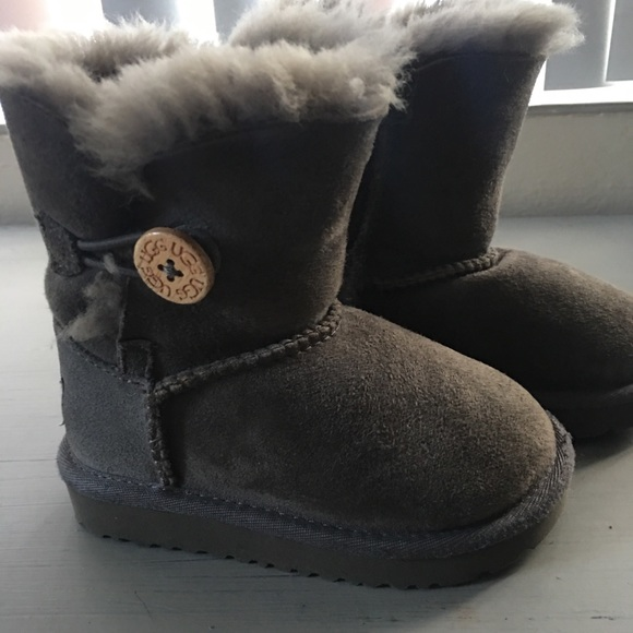 Grey Toddler Uggs